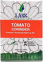 Парфюмерия и Козметика Ръчно изработен сапун с етерично масло от домат и кориандър - Lass Naturals Soap