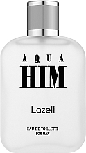 Парфюмерия и Козметика Lazell Aqua Him - Тоалетна вода
