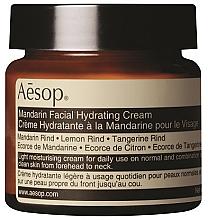 Парфюмерия и Козметика Хидратиращ крем за лице с мандарина - Aesop Mandarin Facial Hydrating Cream