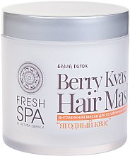 Парфюмерия и Козметика Витаминна маска за слаба коса - Natura Siberica Fresh Spa Russkaja Bania Detox Berry Kvas Hair Mask
