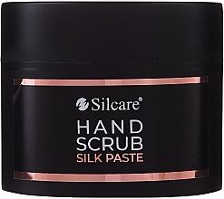 Парфюмерия и Козметика Скраб паста за ръце - Silcare Hand Scrub Silk Paste