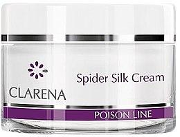 Парфюми, Парфюмерия, козметика Крем за лице с коприна от паяк и млечен протеин - Clarena Poison Line Spider Silk Cream