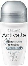 Парфюмерия и Козметика Рол-он дезодорант-антиперспирант 48-часова защита - Oriflame Activelle Actiboost Invisible