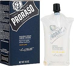 Парфюми, Парфюмерия, козметика Крем за бръснене - Proraso Shaving Cream Azur Lime