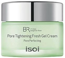 Парфюмерия и Козметика Крем-гел за свиване на пори - Isoi Bulgarian Rose Pore Tightening Fresh Gel Cream