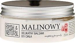 Парфюмерия и Козметика Нежно малиново масло за тяло - Fresh&Natural