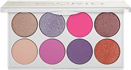 Парфюмерия и Козметика Ingrid Cosmetics Candy Boom Eye Shadows Palette - Палитра сенки за очи