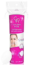 Парфюмерия и Козметика Памучни тампони - Golden Rose Cotton Pads for Makeup Removal