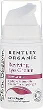 Парфюмерия и Козметика Околоочен крем - Bentley Organic Skin Blossom Reviving Eye Cream