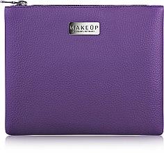 """Парфюми, Парфюмерия, козметика Козметична лилава чанта """"Lofty"""" - MakeUp"""