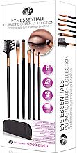 Парфюмерия и Козметика Комплект четки за грим - Rio Eye Essentials Cosmetic Brush Collection
