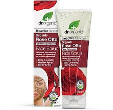 Парфюми, Парфюмерия, козметика Скраб за лице с маслодайна роза - Dr. Organic Bioactive Skincare Rose Otto Face Scrub