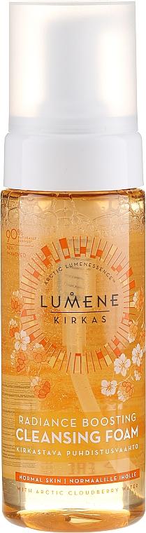 Почистваща пяна за лице - Lumene Radiance Boosting Cleansing Foam