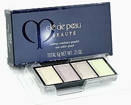 Парфюмерия и Козметика Палитра сенки за очи - Cle De Peau Beaute Eye Color Quad Refill