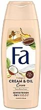 Парфюмерия и Козметика Душ крем с какаово и кокосово масло - Fa Cacao Butter And Coco Oil