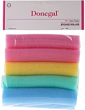 Парфюми, Парфюмерия, козметика Дунапренови ролки за коса 9252, среден размер, 10 бр. - Donegal Sponge Rollers