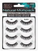 Парфюми, Парфюмерия, козметика Изкуствени мигли - Ardell Natural Multipack Black 101