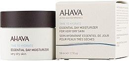 Парфюмерия и Козметика Овлажняващ крем за много суха кожа - Ahava Time To Hydrate Essential Day Moisturizer Very Dry Skin