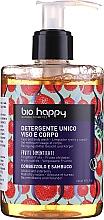 Парфюмерия и Козметика Душ гел за лице и тяло с арбутус и бъз - Bio Happy Arbutus & Elderberry Face & Body Wash