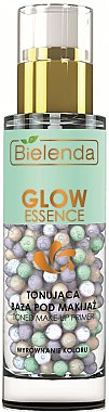 Тонираща основа за грим - Bielenda Glow Essence Toning Makeup Primer Correcting Colour