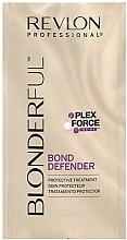 Парфюми, Парфюмерия, козметика Възстановител за коса след изсветляване - Revlon Professional Blonderful Bond Defender (мини)