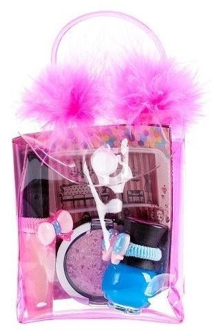 Tutu Mix 23 (лак за нокти/5ml+гланц за устни/7ml+сенки за очи/4,5ml+козм. чанта) - Детски комплект за грим