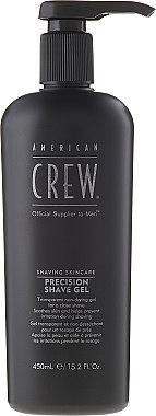 Гел за фино бръснене - American Crew Shaving Skincare Precision Shave Gel — снимка N1