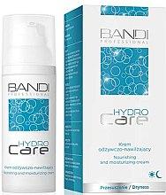 Парфюми, Парфюмерия, козметика Хидратиращ крем за лице - Bandi Professional Hydro Care Nourishing And Moisturizing Cream