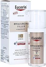 Парфюмерия и Козметика Антистареещ серум за лице - Eucerin Hyaluron-Filler + Elasticity Anti-Age 3D Serum