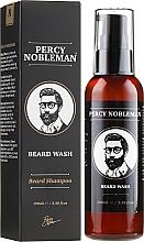 Парфюмерия и Козметика Измиващ гел за брада - Percy Nobleman Beard Wash