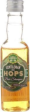 Бирен шампоан - Gentleman Hops Beer Shampoo — снимка N2