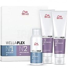 Парфюмерия и Козметика Комплект за коса - Wella Professionals Wellaplex Travel Kit (еликсир/100ml + еликсир/2х100ml)