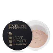 Парфюми, Парфюмерия, козметика Матираща насипна пудра - Eveline Cosmetics Loose Powder Cashmere Mat