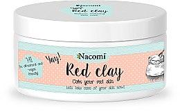 Парфюмерия и Козметика Глинена маска за лице - Nacomi Red Clay