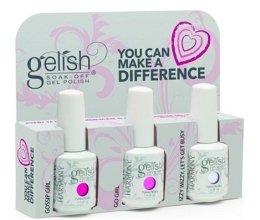 Парфюми, Парфюмерия, козметика Комплект лак за нокти - Gelish You Can Make A Difference Trio Kit (nail/3х15ml)