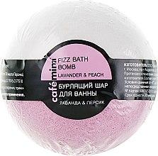 Парфюми, Парфюмерия, козметика Бомбичка за вана с лавандула и праскова - Cafe Mimi Bubble Ball Bath
