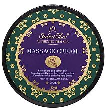Парфюми, Парфюмерия, козметика Масажен крем с масло от оризови трици и алое вера - Sabai Thai Jasmine Massage Cream