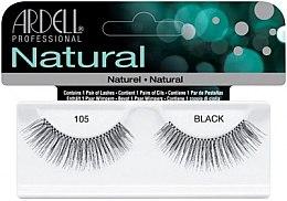 Парфюмерия и Козметика Изкуствени мигли - Ardell Natural Lashes Black 105