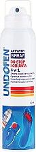 Парфюмерия и Козметика Спрей за крака - Undofen Active Foot Spray 4in1