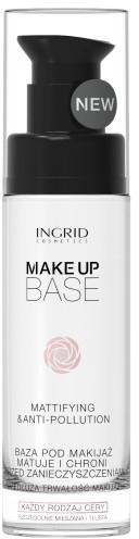 Матираща основа за грим - Ingrid Cosmetics Make-up Base Mattifying & Anti-Pollution