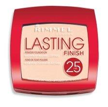 Парфюми, Парфюмерия, козметика Устойчива пудра за лице - Rimmel Lasting Finish 25h Powder Foundation
