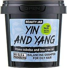 "Парфюмерия и Козметика Шампоан за мазна коса ""Yin and Yang"" - Beauty Jar Shampoo For Oily Hair"