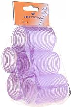"""Парфюмерия и Козметика Ролки за коса """"Velcro"""" диаметр 41мм, 5 бр., 0416 - Top Choice"""