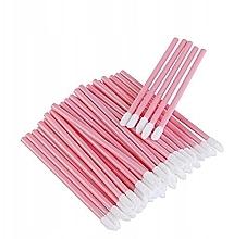 Парфюмерия и Козметика Апликатори за мигли, вежди и устни, розови - Lewer