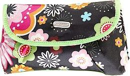 "Парфюми, Парфюмерия, козметика Несесер ""Flower"" 92671, черен - Top Choice"