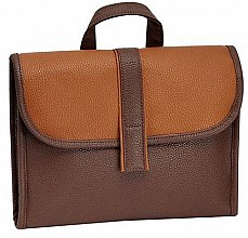 Парфюмерия и Козметика Мъжка козметична чанта, кафява - Avon