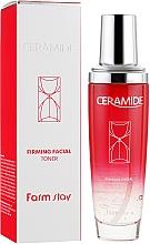 Парфюмерия и Козметика Стягащ тонер за лице със серамиди - FarmStay Ceramide Firming Facial Toner