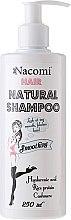 Парфюмерия и Козметика Хидратиращ и изглаждащ шампоан за коса - Nacomi Hair Natural Smoothing Shampoo