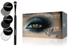 Парфюмерия и Козметика Комплект сенки за очи - Bellapierre Eye Slay Kit Smoked