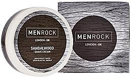 Парфюмерия и Козметика Крем за бръснене - Men Rock Sandalwood Shave Cream